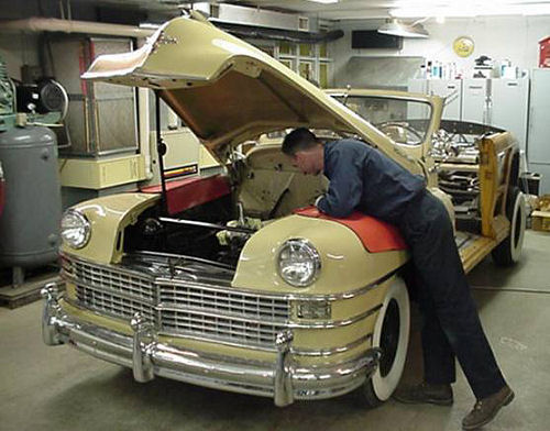 1948 Chrysler Town & Country Restoration