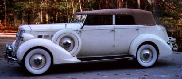 1936 Packard 120 Convertible Sedan