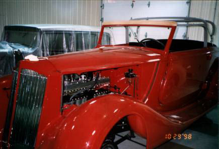 1936 Packard Std. 8 Restoration