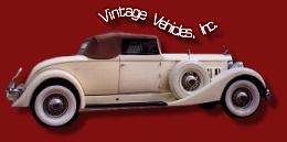 Vintage Vehicles, Inc. Logo